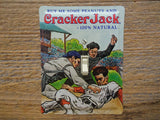 Baseball Light Switch Covers Made From Cracker Jack Tins
