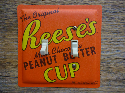 Switch Plates Made From Reeses Peanut Butter Cup Tins