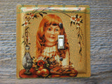 Ginger Wafers Tin Switch Plate 50% Off Clearance