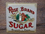 Light Switch Covers Made From Rose Brand Sugar Tin Canisters