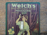 Switch Plates Made From Welchs Juice Magazine Tins