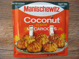 Vintage Manischewitz Coconut Macaroons Tin Double Switch Plates