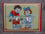 Double Switch Plates Made From Campbells Soup Kids Tins