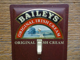 Switch Plates Made From Baileys Irish Cream Tins