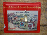 Switch Plates Made From Campbells Kids Soup Tins