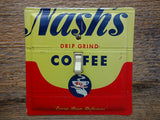 Vintage Nashs Coffee Tins Made Into Light Switch Plates