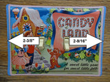 Switch Plates Made From Candy Land Tin Lunchbox