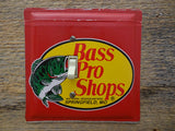 Vintage Bass Pro Shops Tin Switch Plate For The Man Cave