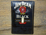 Jim Beam Tin Switch Plate Bourbon Advertising Bar Decor