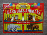 Light Switch Plate Made From A Barnums Animal Crackers Tin
