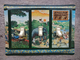 Crabtree And Evelyn English Tea Tins Handmade Light Switch Plates