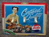 Pepsi Tin Switch Plates For Retro Decor Made From Tins