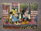 Switch Plates Made From Mickey And Minnie Mouse Tins