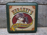 1999 Hersheys Milk Chocolate Tin Collectible Advertising Tins For Sale