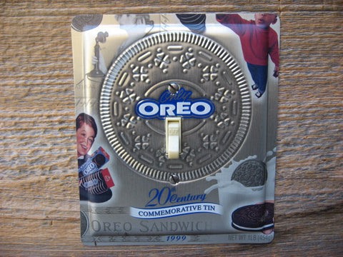 Switch Plates Made From Oreo Cookies Tins