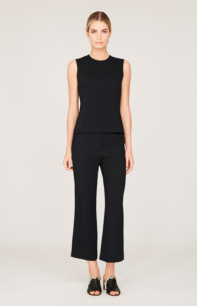 Stretch Base Flat Front Straight Leg Pant