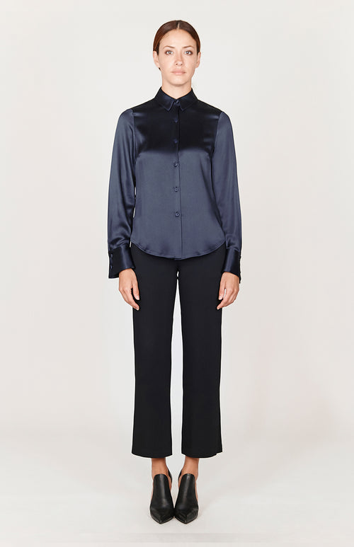Satin Classic Button Down Collared Shirt - Capsule 3