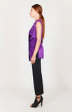 Satin Deep Wrap Tunic - Capsule 1