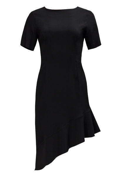 3/4 SLEEVE FITTED DRESS