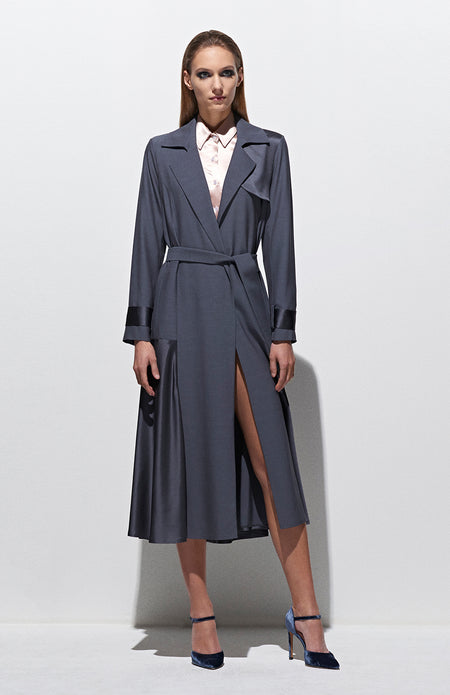 FULL LENGTH TRENCH COAT