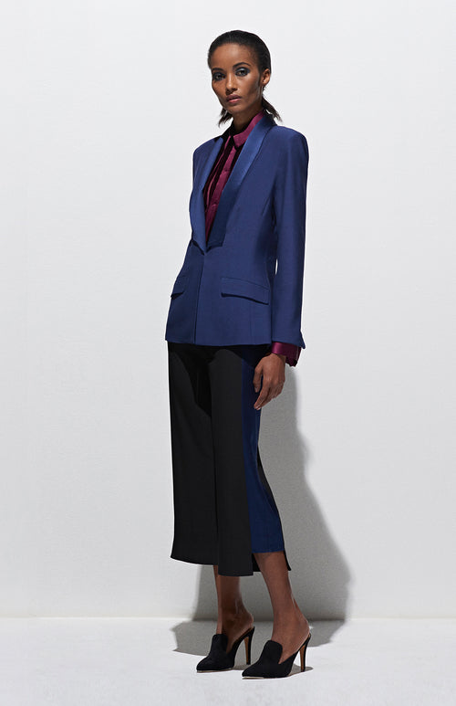TAILORED JACKET W/ SHAWL LAPEL
