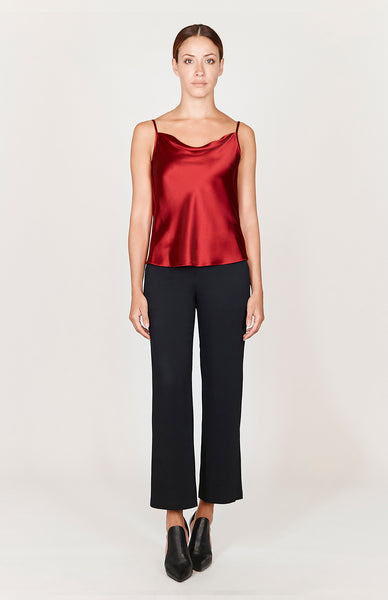 Satin Draped Front Camisole - Capsule 3