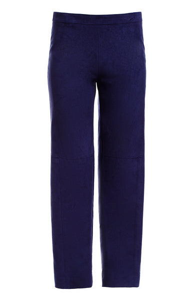 NARROW LEG PANTS W/ STITCHING DETAIL