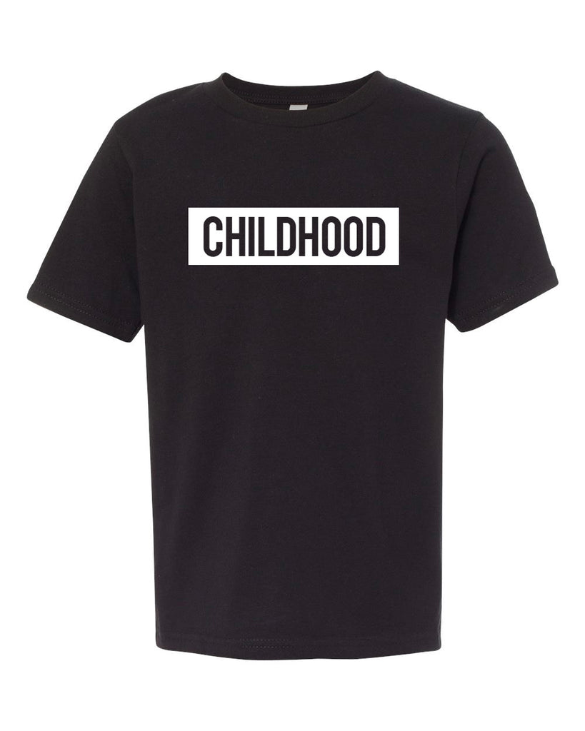 Childhood Black Tee