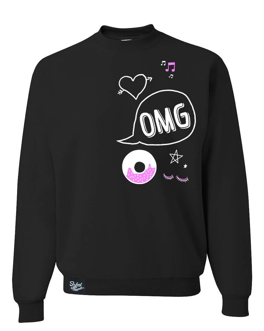 OMG Teen Sweatshirt 'CLOSEOUT' youth small only