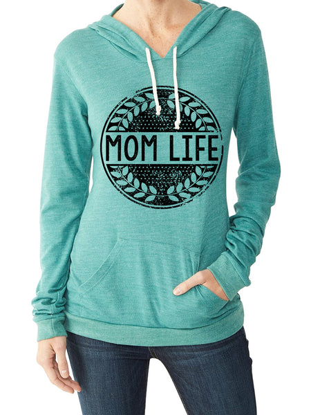 Mom Life Eco Green Pullover
