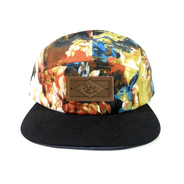 Kids Harvest Floral Camp Hat