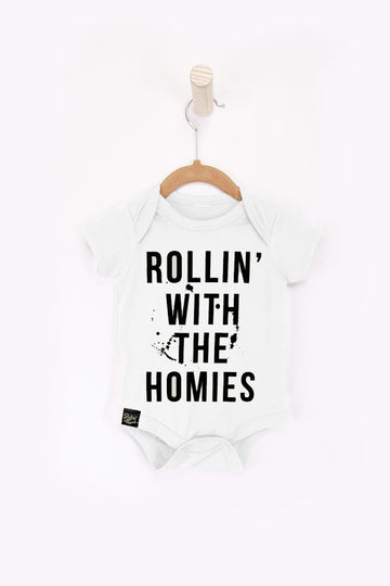 Rollin with the Homies Onesie