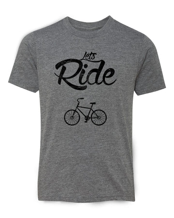 Lets Ride Adult Tee