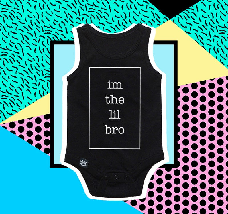 Im the Lil Bro Tank Onesie - END OF SEASON