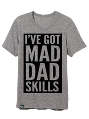 Mad Dad Skills Grey - HURRY CLOSEOUT!