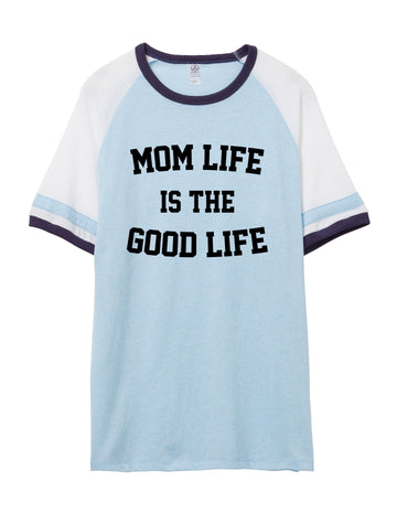 Mom Life is the Good Life Vintage Jersey Shirt