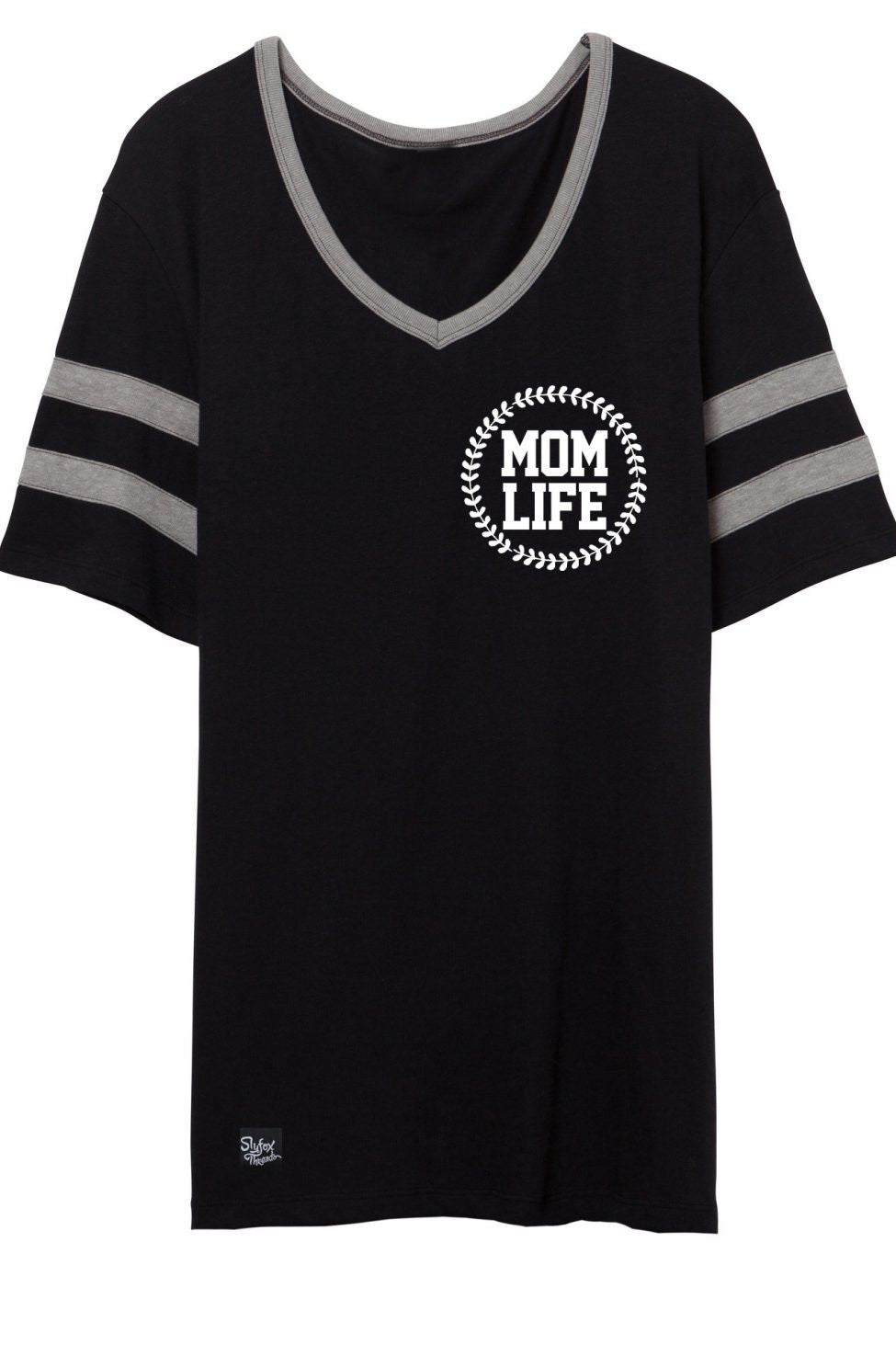 Mom Life Black Pocket Design