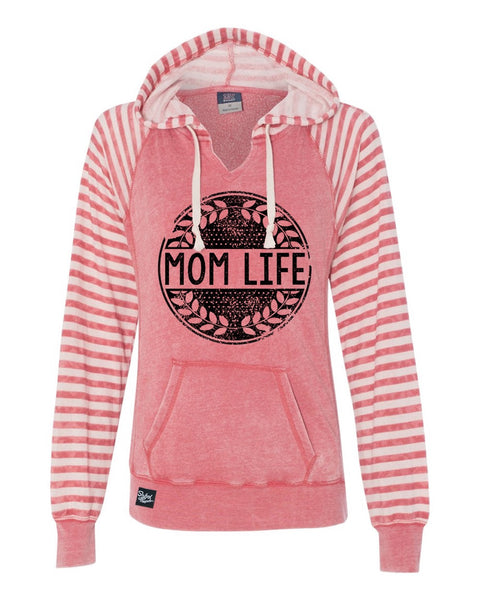 Mom Life Red Striped Sweater 'CLOSEOUT' A Few Left