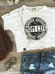 Mom Life Boxy Tee - CLOSEOUT HURRY!