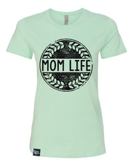 Mom Life Mint Tee - Closeout!  Hurry!