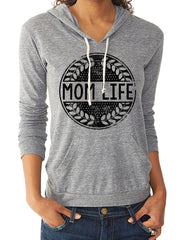Mom Life Grey Pullover - CLOSEOUT HURRY!