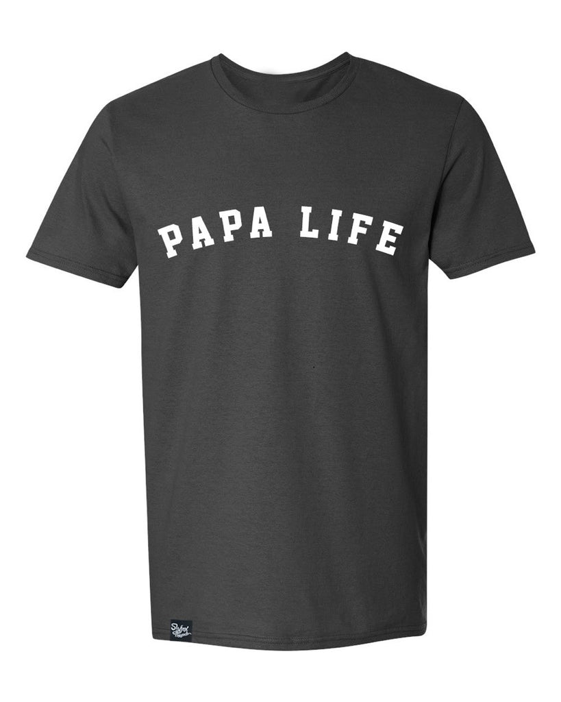 Papa Life Black Tee - Limited Stock!