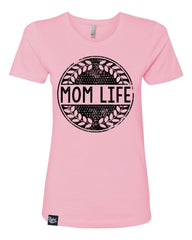 Mom Life Pink Tee - Closeout! Hurry!