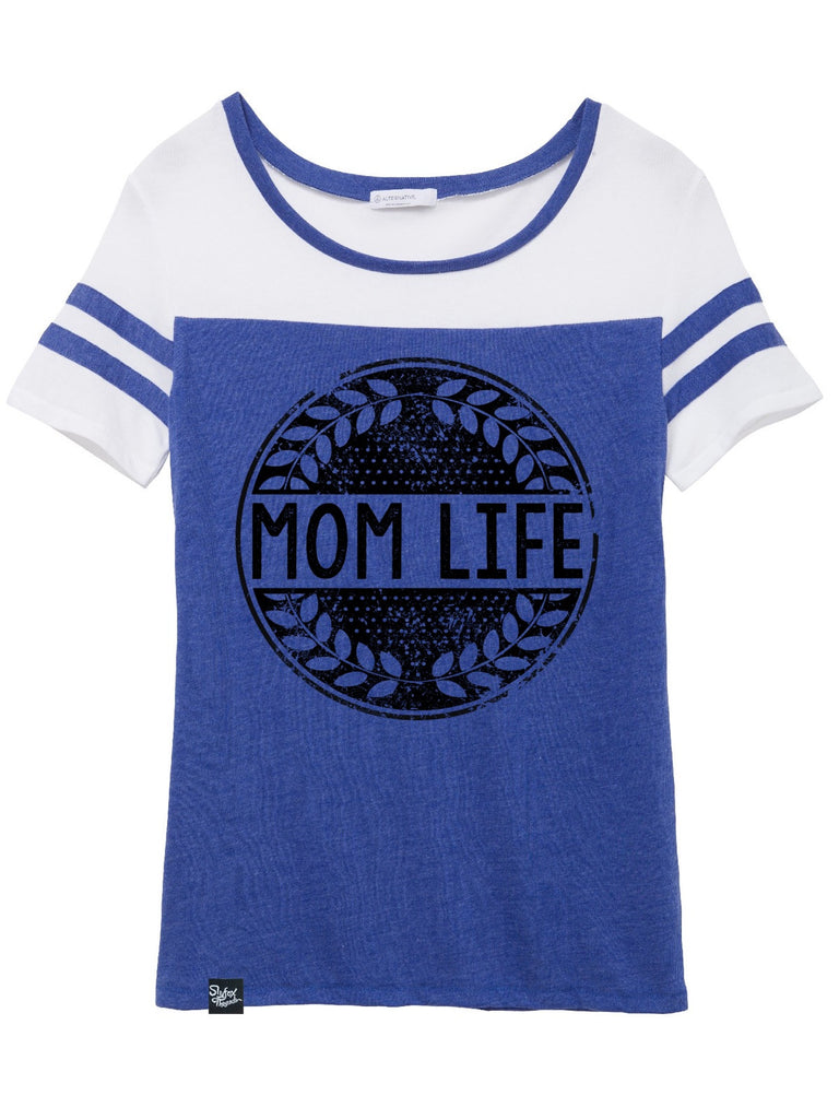 Mom Life Royal Jersey Tee - Closeout! Hurry!