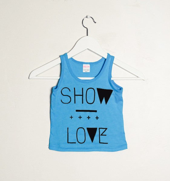 Show Love Blue Tank 'CLOSEOUT' 10/12 ONLY