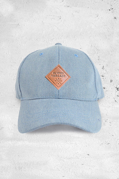 Washed Denim Dad Hat