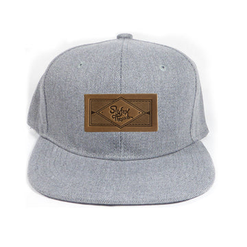 Heather Gray Kids Snapback
