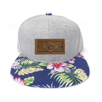 Hawaiian Brim Kids Snapback