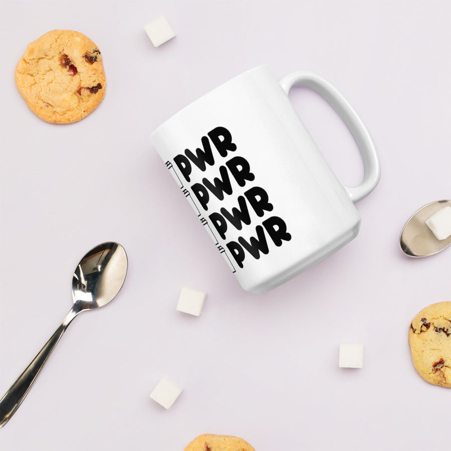 Mom PWR Graphic Mug
