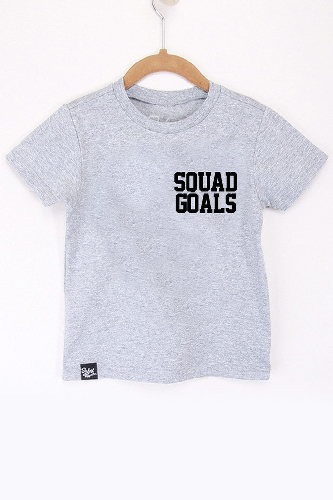 Squad Goals Grey Tee - Closeout! Hurry!